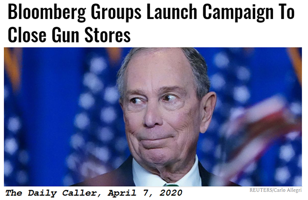 Bloomberg groups launch campaign to close gun stores